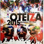 2015eko Oteitzako jaietako kartela