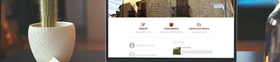 Nueva web del Ayuntamiento de Oteiza