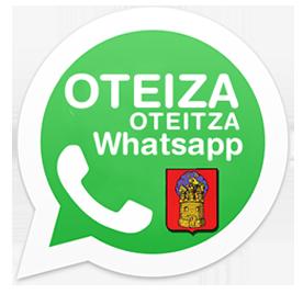 Oteiza en tu Whatsapp